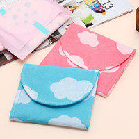Fabric Bedding Storage Bags Non-woven health cotton sanitary napkin bag storage bag sn1374