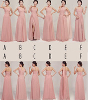 Wholesale 2014 Actual Sample Pictures Sweetheart Party Gowns Formal Dresses Skin Color Chiffon Long Bridesmaid Dress For Maid of Honor