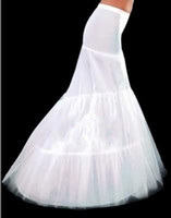 dresses in china - LQ Stock Top Good Price Fishtail Petticoats Big High Quality Hoops White Trumpet Mermaid Petticoats For Wedding Dress Made In China