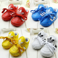 pu shoes - Factory promotion Lace newborn shoes PU soft bottom toddler shoes China casual shoes sport shoes baby wear sale pairs CL