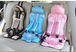 Wholesale Hot Selling Comfortable Toddler Car Seats Baby Car Seat Cover Point Safety Harness Design Optional Colors General Seat Cover