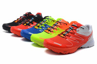 Mesh salomon shoes - Fashion Salomon S LAB SENSE M sports hiking running shoes for men