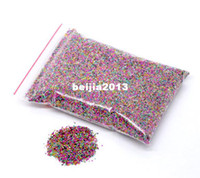 Cheap Free Shipping 100gram Multicolor Micro No Hole Glass Seed Beads Embellishment Scrapbooking 0.7mm