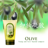 100 ml olive oil - Olive Special Cleansing Gel Facial Gels Pure Skin Oil control Cleansing Cream Anti acne Deep Cleansing Remover Oil Cleanser Serum ml