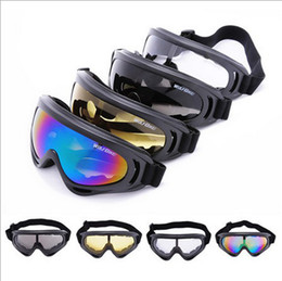 WOLFBIKE UV400 Glasses Snowmobile Bicycle Motorcycle Ski Goggle Eyewear Protective Glasses Lens Outdoor sports Snow Sports Ski Snowboard
