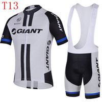 Wholesale NEW giant Team cycling clothing Short Sleeve Bodysuit Bib Cycling sets Outdoor Cheap wear good quality best sale