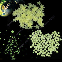 Wholesale 180Pcs Home Wall Glow In The Dark Star Stickers decoration Baby Kids Gift Nursery Room
