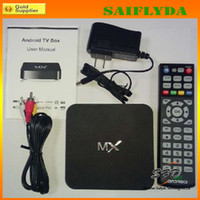 Wholesale high quality Dual Core XBMC Android Smart IPTV TV BOX Media Player MX Amlogic MX Dual Core ARM Cortex