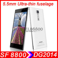 Wholesale DOOGEE DG2014 TURBO mm thin fuselage quot IPS HD Display MTK6582 Quad core phone G G MP android cell phone samrtphone P6 killer