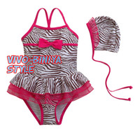 fishion baby beachwear zebra kids beachwear baby swimsuit ch...