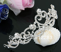Cheap Headbands Bride Crown Best Women's Wedding Crystal Flower Crown