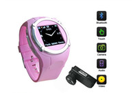 Wholesale 1 Inch Wrist Phone Watch Cell phone MQ998 GSM Quad Band with Bluetooth MP3 MP4 FM MP Camera