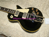 lp guitar - Custom shop LP Guitars Black Electric Guitar with tremolo system
