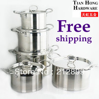 stainless steel cookware - TianHong Stainless steel cookware sets capsule bottom