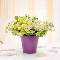 ceramic flower pots - Ceramic Flower Pot Flower Candy Color Brief Home Decoration Flower Pots Planters Upside Down Plant Pot Hydroponics