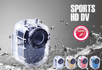 Wholesale FREE DHL Full HD Waterproof Camera P Sports Helmet Action Mini Video Camera SJ1000 Car DVR Bike Surfing Outdoor Sports camera