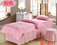 beauty bed - salon bedding set of four beauty bed bedspread beauty salon bedding supplies bed in a bag