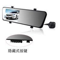 Cheap Vehicle DVRs6000A Rearview Mirror Car DVR HD 1920x1080p Rear view camera 720P H.264 Dual Cameras wtih G-sensor GPS PIP function Freeshipping