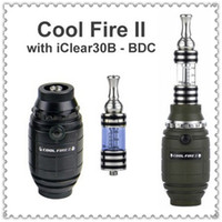 Best DHL Free Latest ecig mod Original Innokin Cool Fire 2 Variable Wattage starter kit