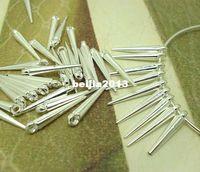 Wholesale Silver Plated Acrylic Spike Pendant Drop Basketball Wives Hoop Spike Earrings Findings cm