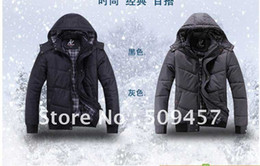 Wholesale HOTsale men s wear youth boy coat down jacket qiu dong warm coat