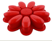 Wholesale Food Grade Flower Shaped Silicone Cake Decoration Mold DIY Baking Moulds FDA Authentication
