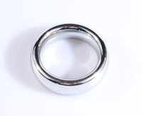 Wholesale round metal cock ring stainless steel penis ring D mm mm sex delayed time penis loop for men adult sexy product