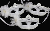 Fashion Flowers Mask Party Wedding Lace Mask Dance Mask Cost...