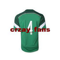 Wholesale fashion New arrival Thailand Quality Brazil World Cup Mexico R MARQUEZ Green color Jerseys Soccer Footabll National Team Footbal