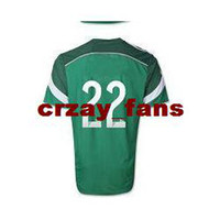 Wholesale fashion Top seller Thailand Quality Brazil World Cup Mexico R JIMENEZ Green color Jerseys Soccer Footabll National Team Footbal