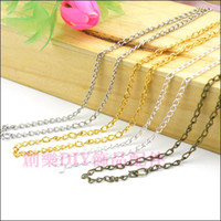 Wholesale DIY jewelry accessories material cmx2mm earrings ear wire chain extension chain ancient bronze and silver etc