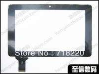 Wholesale inch for Ainol NOVO7 advanced II ELF NOVO7 Crystal Tablet capacitance touch screen Black and White