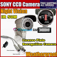 Cheap Hot Selling High Resolution 600TVL License Plate Recognition Camera car plate camera LPR camera Freeshipping