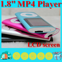 Wholesale DHL inch Screen th mp3 mp4 Player with card slot FM radio Voice Recorder colors HG01