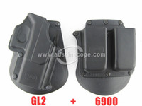 GL-2 China (Mainland)  Free shipping! FOBUS GL 2 Paddle Pistol Holster for Glock 17 19 22 23 31 32 34 35, gun holster, tactical holster, wholesale