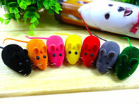 Wholesale Squeaky Squeaker Sound Chew Toy False Mouse Rat Pet Cat Kitten Dog Puppy Playing