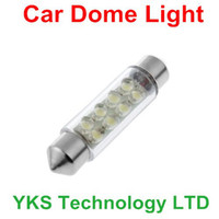 Wholesale DC V mm LED Blue Car Interior Festoon Dome Light Lamp Bulb