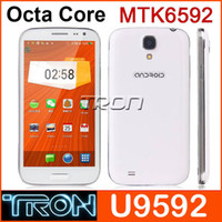 Star 5.0 Android Ulefone U9592 S4 I9500 5.0 Inch MTK6592 Octa core Android Cell Phone 2GB RAM 16GB ROM 8.0MP Android 4.2