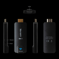 Wholesale Measy P A2W HDMI TV Receiver Multi Media Wireless Display Miracast Dongle Ezcast Airplay Chromecast for Android IOS Windows V5ii V578