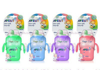 Wholesale Avent Baby Hard Spout Sippy Cup Drinking Cups Magic Cup Training Cup with Handles oz ml