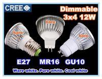 Spotlight Power LED 9W DHL Free shipping High power CREE Led Lamp 9W 12W 15W Dimmable GU10 MR16 E27 E14 GU5.3 B22 Led spot Light Spotlight bulb downlight lighting