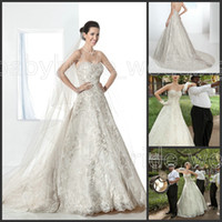 Cheap Demetrios Bridal 1473 sweetheart lace wedding dresses Brazil bridal gowns Sleeveless strapless wedding dress Bridalwear covered button 2014