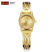 Wholesale Luxury Fashion Crystal Dress Hour Wrist Watch Brand Gift for Women Lady