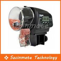Wholesale 1 quot LCD Digital Automatic Aquarium Fish Tank Food Feeder AF D