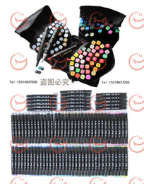 Wholesale color Touch marker set with a gift bag ShinHan touch twin marker pen set popular presents to artists or school students