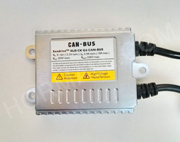 Wholesale 12V W CAN BUS can bus HID Xenon Kit SUPER SLIM BALLAST No Dash Canbus Warning Error Canbus HID warning canceller