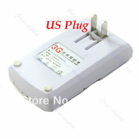 Desktop For USA/Canada 19580 Freeshipping Travel Universal 3G emergency Charger Cell Phone PDA Camera Battery Charger , USB Wall plug charging