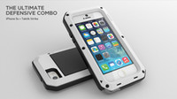 Wholesale Lunatik Taktik Strike Metal Case with Gorilla Glass Protector for iPhone s Top Quality
