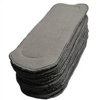 Livraison gratuite Naughty bébé charbon de bois bambou 460pcs 5 couches (3 + 2)