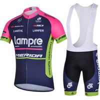 Wholesale 2014 Latest Merida Cycling Jerseys Bib Shorts Mountain Bike jersey Short Sleeves Lampre Team cycling jersey Set singapore C00S
